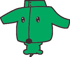 笹徳印刷マスコットキャラクター ミドジャン犬